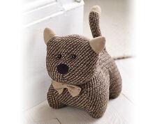 cat door doorstop stop fabric stopper wedge animal pet heavy novelty home new