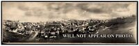 1897 New York Bay from Staten Island Vintage Panoramic Photograph Panorama
