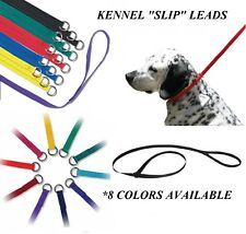 Lot 4 DOG Groomer PRO Grooming Nylon KENNEL LEAD NO SLIP LEASH Choke Loop Noose
