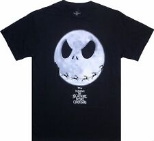 The Nightmare Before Christmas Jack SKELLINGTON Black T-Shirt Top Large 12 14