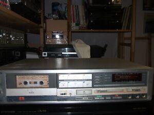 piastra di registrazione vintage tape dack technics m235x