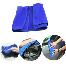 5pcs Microfiber Towel Kitchen Wash Auto Car Home Cleaning Wash Clean Cloth Blue