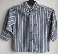 New  Shirt by designer Speed of Light blue stripe    100% cotton  3 year