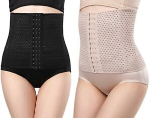 NEW Ladies Belly Band Firm Control Shapewear Tummy Belt Hook for Everyday Wear