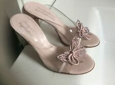 100% Leather Sandals Russell & Bromley Heels for Women