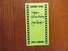 """JON VOIGHT (""""Coming Home/Deliverance/the Champ/Ali"""")/Signed 3 x 5 1/2 Green Card"""