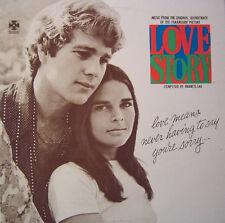 "12"" LP Soundtrack Franis Lai Love Story (Ali McGraw, Ryan O`Neal) 70`s Paramount"