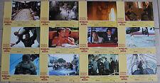 James Bond View To a Kill Spanish set 12 Roger Moore Tanya Roberts Grace Jones