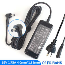 19V 1.75A Ac Power Adapter Charger fr Asus S200E-CT008H E402MA-EH01 F201E-KX067H