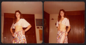 GORGEOUS GYPSY STRIP TEASE PRIVATE SEX PARTY WOMAN ~ 1970s VINTAGE PHOTO LOT