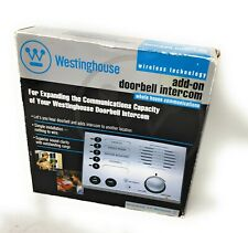 Westinghouse - 5 Channel Add On Doorbell Intercom WHI-5S