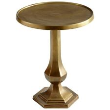Cyan Design Old Sport Side Table, Brushed Brass - 8226
