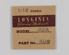 Longines Genuine Material Part #408 Banking Stop Spring for 22A