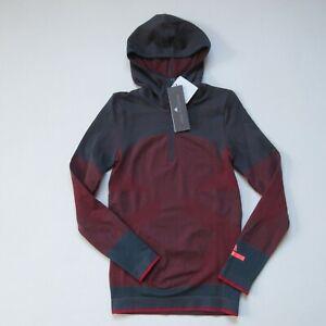 NWT Adidas x Stella McCartney Essential Seamless Long Sleeve Hooded Top S
