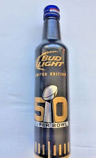 Super Bowl 50th Anniversary Bud Light Collectible Limted Edition 2016