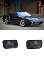 Nissan Silvia 1991 - 1998 180Sx Rps13 Smoked Front Bumper Signal Lights New