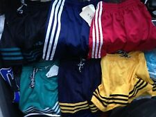 ADIDAS FOOTBALL SHORTS IN ASSORTED COLOURS /WHITE IN 26 INCHAT £4