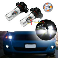 2x Pure White X-Bright LED Fog Lights for 2007-2014 Ford Mustang Shelby GT500