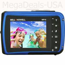 Bell & Howell Splash WP10 Shock & Waterproof Digital Camera 12MP Blue - (H5)
