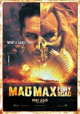 POSTER MAD MAX FURY ROAD CHARLIZE THERON TOM HARDY MEL GIBSON INTERCEPTOR #10