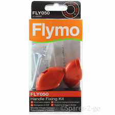 FLYMO Power Compact Lawnmower Handle Fixing Kit Screw Knobs FLY050 Genuine Spare