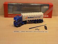 """Herpa 144339, Scania R 144 TL, """"Nedlloyd"""", Container SZ, Neuw. Vitrinenm. OVP"""