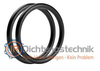 O-Ring Nullring Rundring 120,24 x 3,53 mm BS248 NBR 70 Shore A schwarz (2 St.)