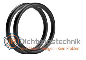 O-Ring Nullring Rundring 145,0 x 2,0 mm NBR 70 Shore A schwarz (2 St.)