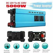 Convertisseur pur sinus 12V 220V 2000W 5000W Onduleur dc to ac Transformateur F