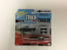 Johnny Lightning Truck and Trailer 1:64 1950 Chevy Pickup Car Ver B CHASE WHITE