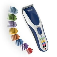 Wahl 9649 Wireless Hair Trimmer 21 Piece HAIR CLIPPERS KIT Barber Set Color cord