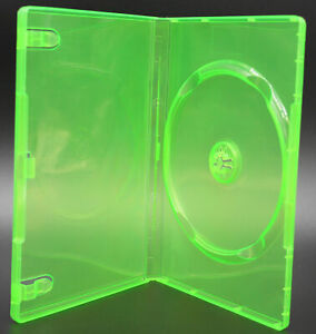 New XBOX 360 Translucent Green 14mm Replacement Video Game Storage Shell Cases