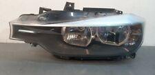 Bmw 3 Series F30 2013 To 2016 Genuine Passenger Side Halogen Headlight