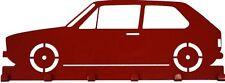 Schlüsselbrett VW Golf 1 - Schlüsselbord - Oldtimer Golf GTI - Volkswagen rot