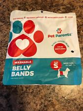 Pet Parent Washable Belly Band 3 Pack Size Small