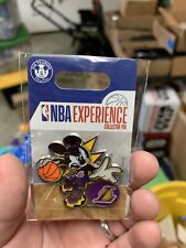 Disney Mickey Mouse NBA Experience Pin LOS ANGELES LAKERS In Hand
