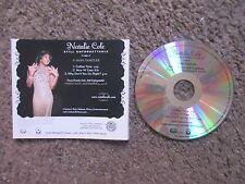 """NATALIE COLE """"STILL UNFORGETTABLE"""" 2008 UNPLAYED 3TRX.RARE RADIO PROMO SAMPLER"""