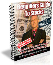 BEGINNERS GUIDE TO STOCKS PDF EBOOK FREE SHIPPING RESALE RIGHTS