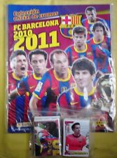 Barcelona 2010/11 PANINI empty album with FULL set stickers
