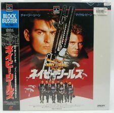 Japan LD Laserdisc NAVY SEALS Charlie Sheen Obi Movie LD44