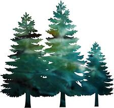DXF CNC dxf for Plasma Router 3 Pine Trees Wall Art Christmas Outdoor Decor