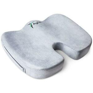 Aylio Coccyx Orthopedic Comfort Foam Seat Cushion for Lower Back, Tailbone and