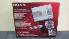 Sony MZ-R50 Portable Minidisc Recorder Player MD IOB & Accessories EXCL - TESTED