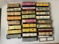 HO SCALE  LOT#25  25 REEFER CARS for repair