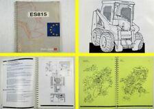 Pel-Job es815 compatto caricatrici MANUALE D'USO MANUTENZIONE CATALOGO PARTI DI RICAMBIO 01/1994
