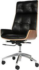 Koreyosh Ergonomic Desk Chair Computer Chair Adjustable Swivel Chair Pu Leather