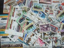 TRAINS Transport Stamps Thematic 10g Whole World Mixed CTO's/Genuine Postage