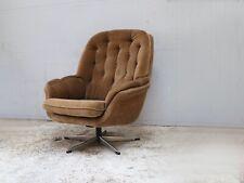 Danish 1960's mid century upholstered lounge chair