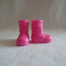 New Barbie Chelsea Doll Pink Boots Shoes Also Fit So In Style Little Sister Sis