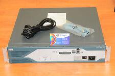 CISCO2821-V3PN/K9 Router w/PVDM2-32, AIM-VPN/EPIIPLUS, 64F/256D 6MthWtyTaxInv